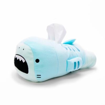 仼- 日本進口 日版 鯊魚哥 鯊魚 鼬鯊 水藍色 面紙套