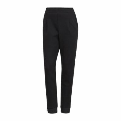 adidas 長褲 Style Warm Pants 女款 愛迪達 運動休閒 吸濕排汗 透氣 黑 白 GR3744