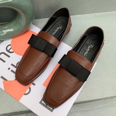 KEITH-WILL時尚鞋館 歐洲站經典時尚英倫樂福鞋-棕