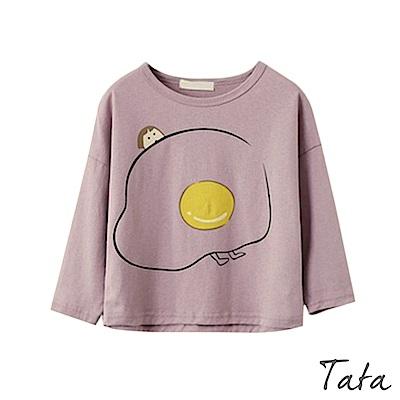 兒童 荷包蛋娃娃上衣 共二色 TATA KIDS