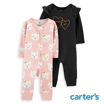 Carter's  甜美風格2件組連身裝