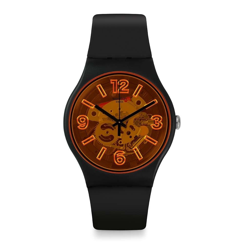 Swatch Bau 包浩斯系列手錶 ORANGEBOOST 就是搶眼-橘