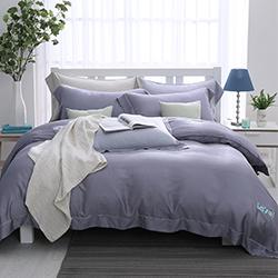 LASOL睡眠屋-100%奧地利天絲 單人兩用被床包三件組濛濛暮光