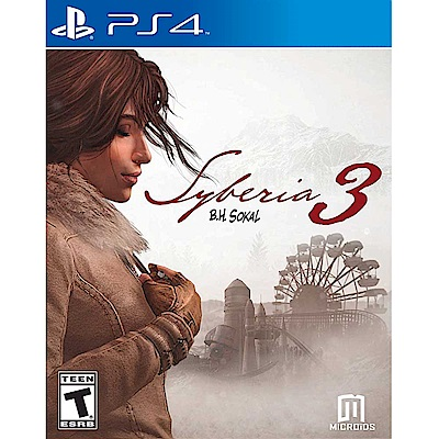 西伯利亞 3 Syberia 3 - PS4 英文美版