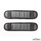 satana - 減壓活動肩墊片(兩片一組) - 黑色