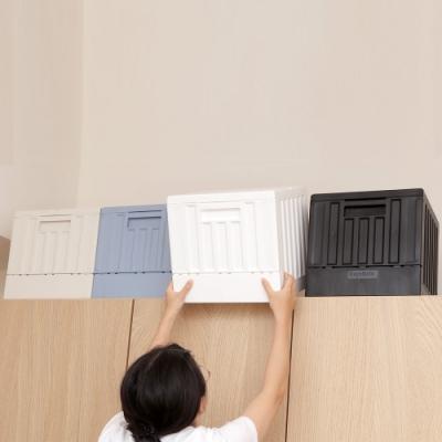 創意達人x樹德哈德斯小貨櫃屋組裝收納箱-4入組