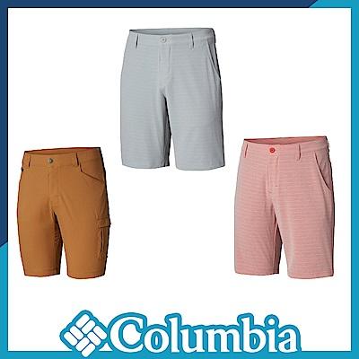Columbia 哥倫比亞 男款-UPF50防潑短褲-3色 UFM02380
