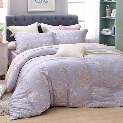 LASOL睡眠屋-100%奧地利天絲 雙人兩用被床包四件組維多利亞女王