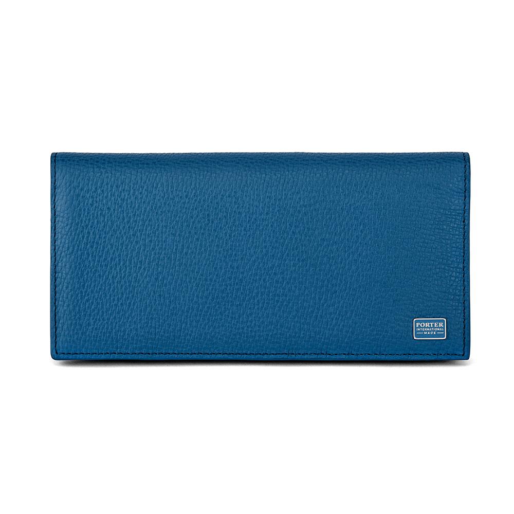 PORTER - 自信魅力REGAL多夾層長夾 - 藍