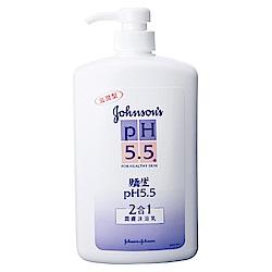 嬌生pH5.5  潤膚沐浴乳(2合1) 1000ml