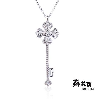 蘇菲亞SOPHIA - 愛的枷鎖0.06克拉鑽石套鍊/項鍊
