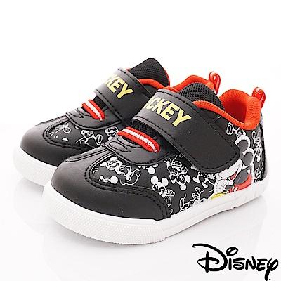 迪士尼童鞋 米奇卡通運動鞋款 ON19309黑(中小童段)