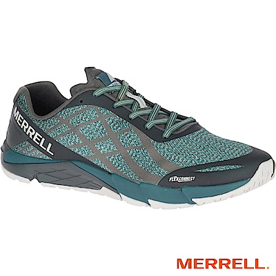 MERRELL BAREACCESSSHIELD 男跑鞋-綠(77569)