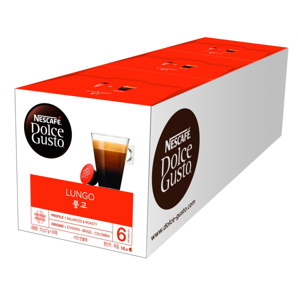 NESCAFE Dolce Gusto 美式濃黑咖啡膠囊 product image 1