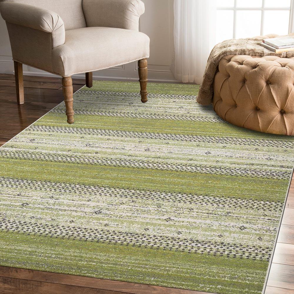 Ambience-比利時Nomad現代地毯 -綠茵(200x290cm)