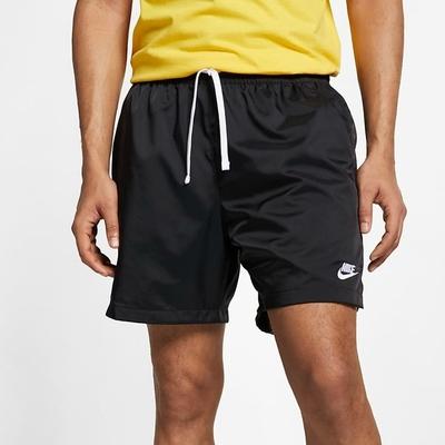 Nike NSW SPE WVN SHORT FLOW 男運動短褲-黑-AR2383010