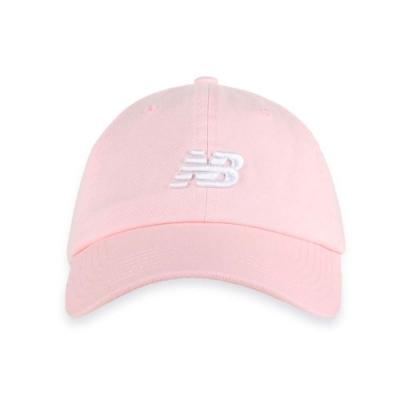 NEWBALANCE 棒球帽 粉白