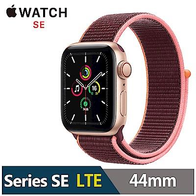 Apple Watch SE 44mm 鋁金屬錶殼配運動型錶環(GPS+Cellular版)