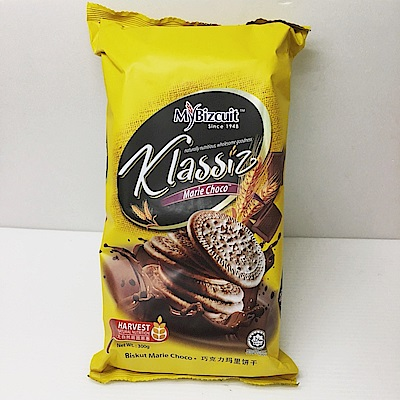 麥比客馬里牛奶餅-巧克力味(300g)