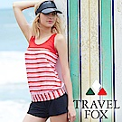TRAVEL FOX夏之戀 大女長版三件式泳衣