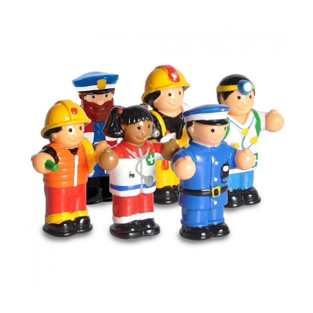 英國驚奇玩具 WOW Toys 小玩偶 - 救援英雄小組
