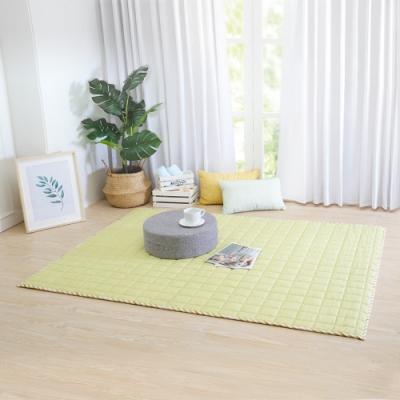 IN HOUSE-馬卡龍多功能地墊-綠色(140x180cm)