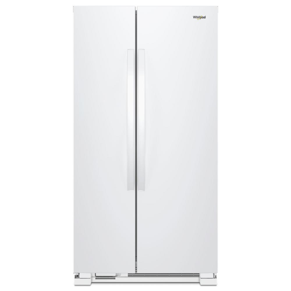 Whirlpool惠而浦 740L 定頻對開2門電冰箱 WRS315SNHW