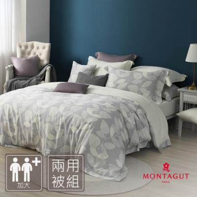MONTAGUT-夏夜晚風-100%萊賽爾纖維天絲-兩用被床包組(加大)