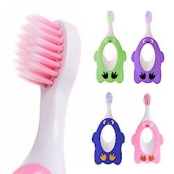 JoyNa 寶寶用品乳牙保健護齒軟毛動物造型牙刷-2入