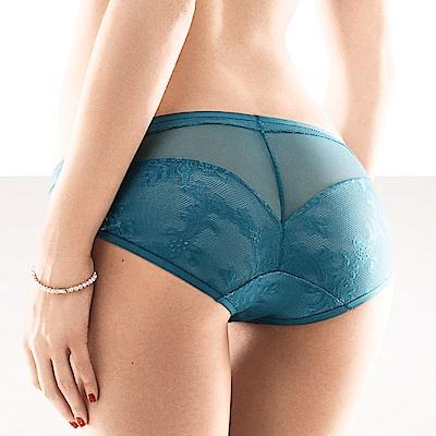 黛安芬-艾聖思華美綴飾系列低腰內褲 M-EL 綠