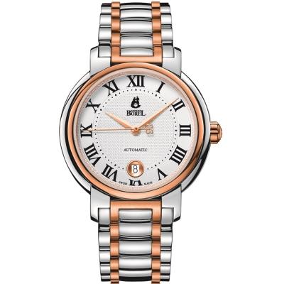 ERNEST BOREL 瑞士依波路錶 傳奇系列-白色40.5mm