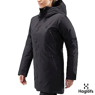 Haglofs 女 Furudal GT 防潑水 保暖 羽絨外套 石板色