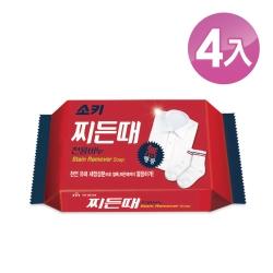 【韓國 MKH無窮花】襪子衣領洗衣皂4入