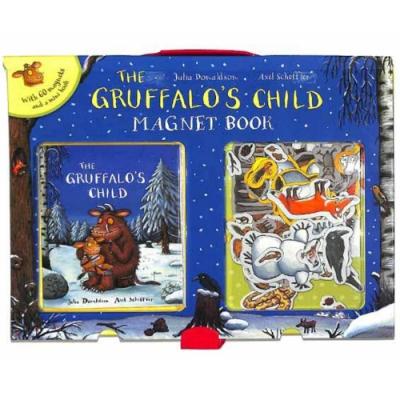 The Gruffalo s Child Magnet Book 小古肥玀的探險故事磁鐵書
