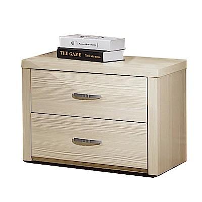 綠活居 雷波斯時尚1.8尺木紋床頭櫃/收納櫃-55x40x47cm-免組