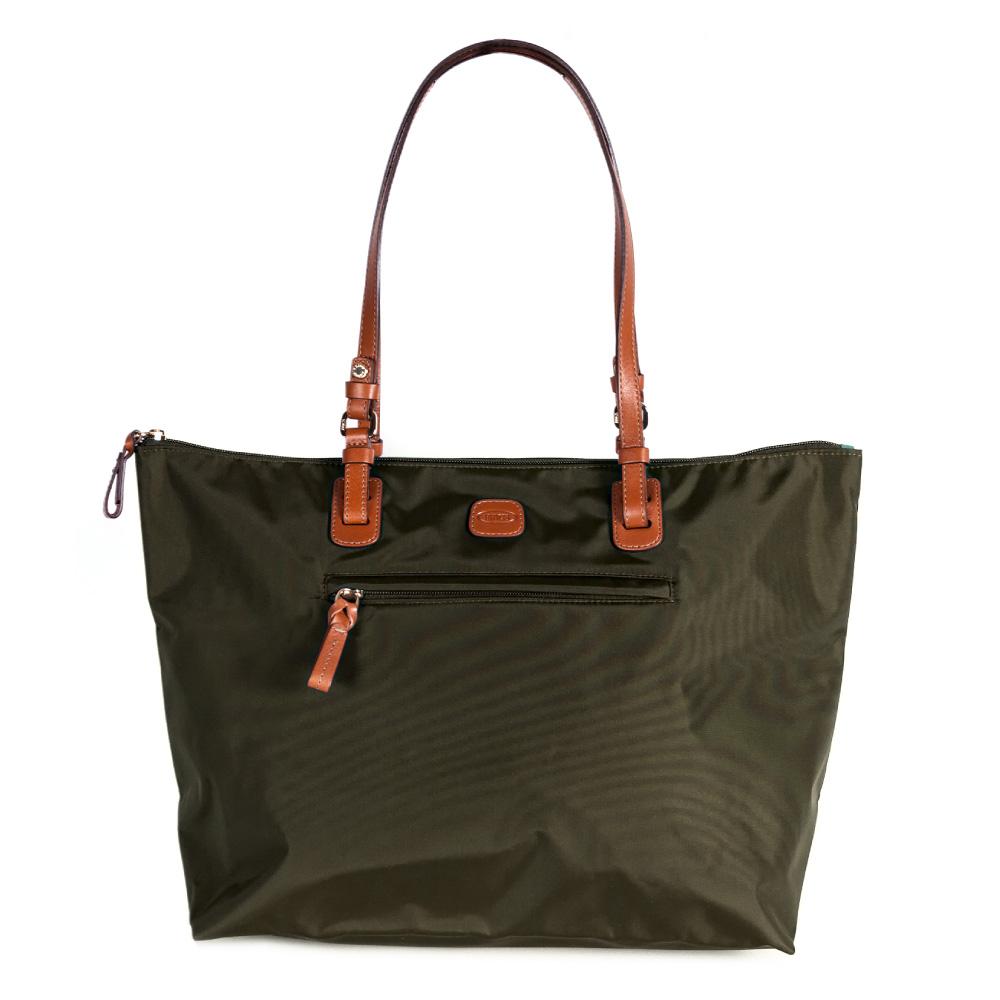 BRICS 義大利 女仕包兼旅行袋 橄欖綠  大
