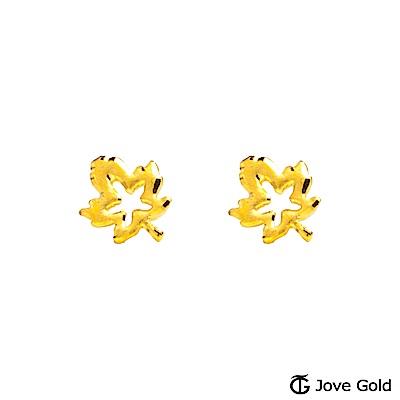 Jove gold 秘境黃金耳環