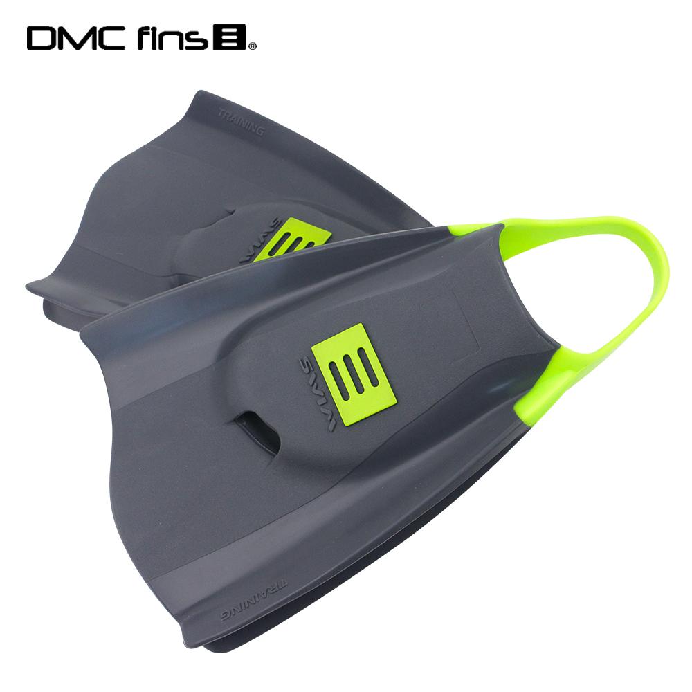 澳洲DMC 訓練用專業蛙鞋 灰綠 ELITE FINS 1