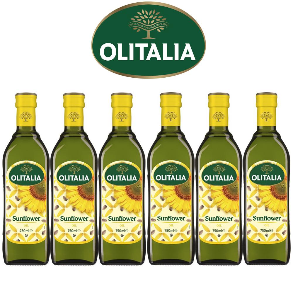 Olitalia奧利塔葵花油禮盒組(750mlx6瓶)