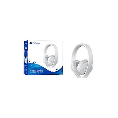 PS4 白色版無線耳機組