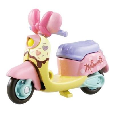任選TOMICA 16情人節特別版 米妮摩托車DS84048夢幻迪士尼小汽車
