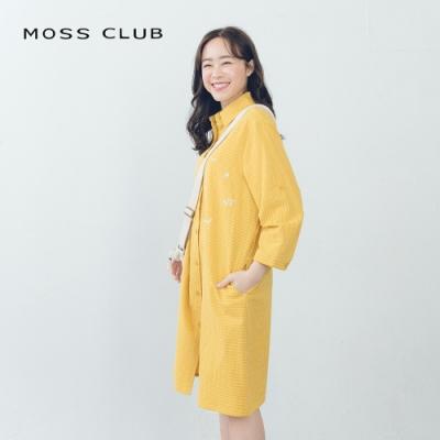 【MOSS CLUB】可愛數字條紋-洋裝(共三色)