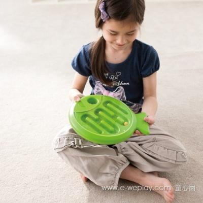 Weplay身體潛能開發系列【創意互動】平衡魚(綠) ATG-KF0005