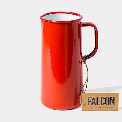 英國Falcon 獵鷹琺瑯 琺瑯3品脫冷水壺 1.7L 紅白