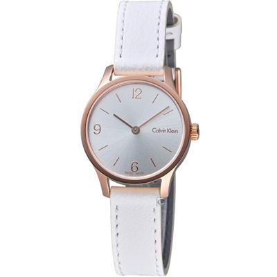Calvin Klein Endless  摩登時尚細緻腕錶(K7V236L6)玫瑰金色