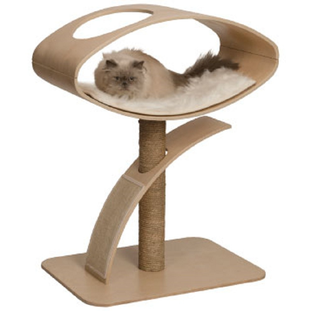 赫根Hagen Vesper貓用實木家具《觀景臥榻》52054
