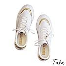 潮閃亮金蔥小白鞋 共二色 TATA