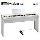 ★Roland★FP-50 88鍵數位鋼琴含原廠琴架組(白)
