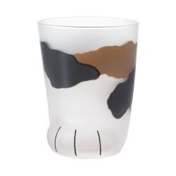日本ADERIA 可愛貓掌肉球玻璃杯300ml-共6款