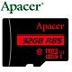 Apacer 宇瞻 32GB 85MB/s microSDHC U1 記憶卡 product thumbnail 1
